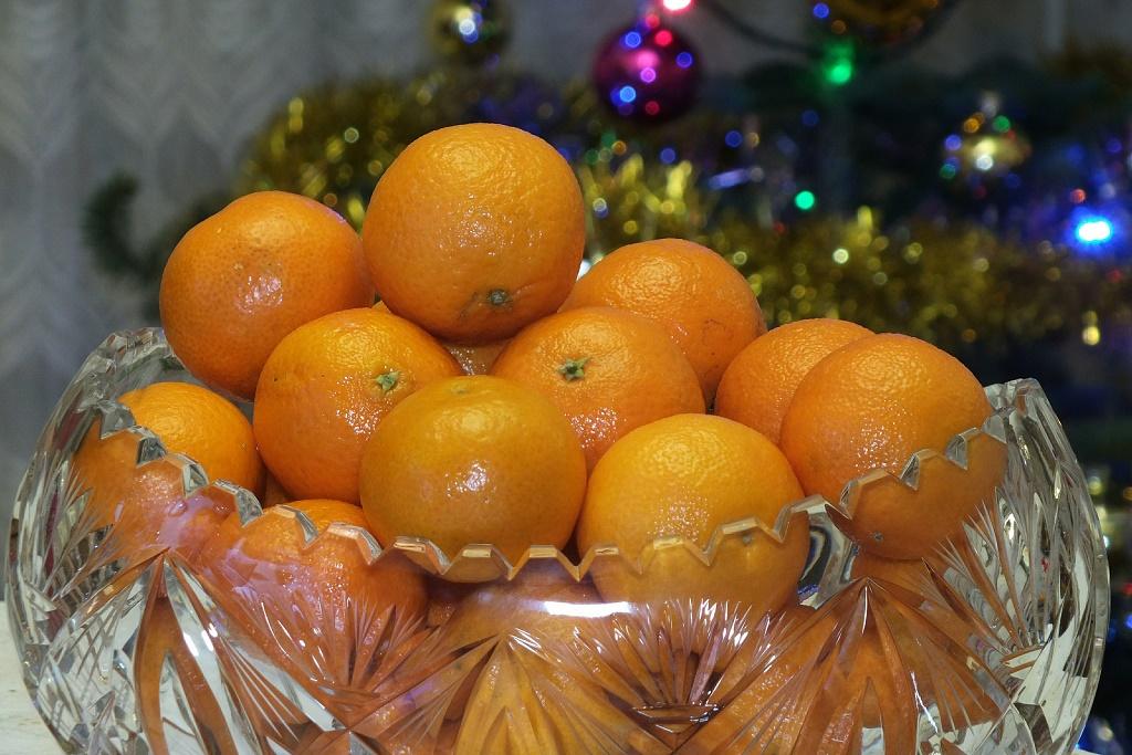 Как питаться мандаринами после Нового года