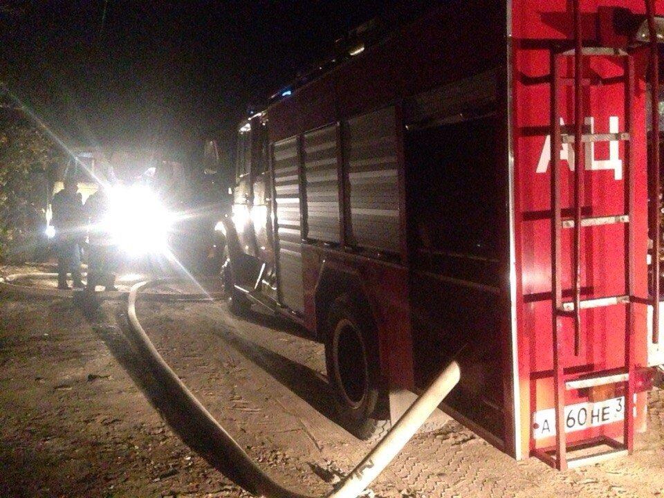 В пожаре погиб 2-летний ребенок
