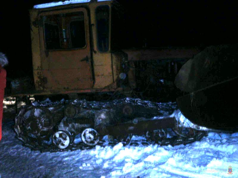 В Волгоградской области пьяный водитель трактора угробил приятеля
