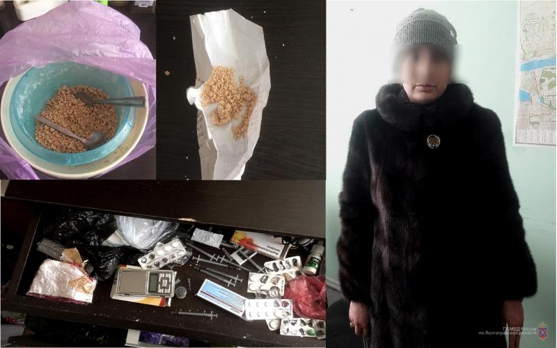 В Волгограде задержали наркобароншу, которая скрывалась от суда