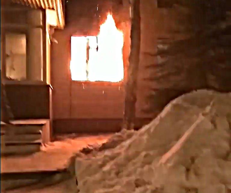 В Волжском горела поликлиника