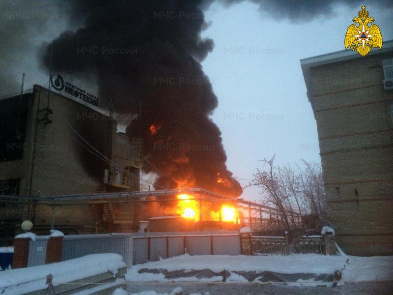 уфа пожар завод