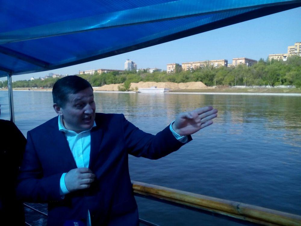 Центральный и Кировский район Волгограда соединит новая четырехкилометровая набережная