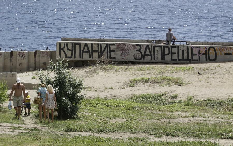 В Волгограде купальный сезон откроется на следующей сезоне