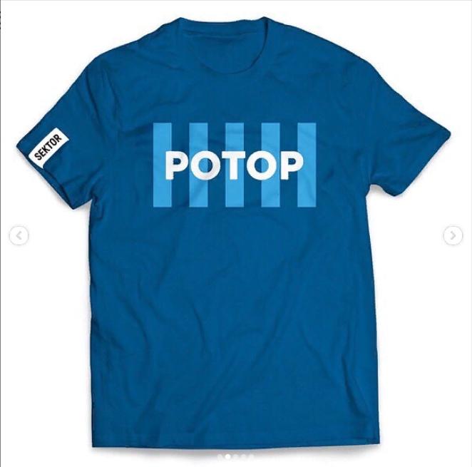 Волгоградский производитель одежды выпустил серию футболок «Ротор»
