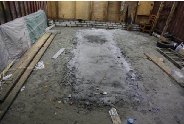 В Брянске убийцы замуровали тело жертвы в цемент