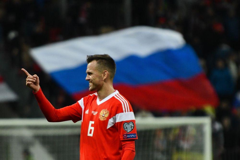 Футбол: российская сборная получает 21 очко после победы над Кипром