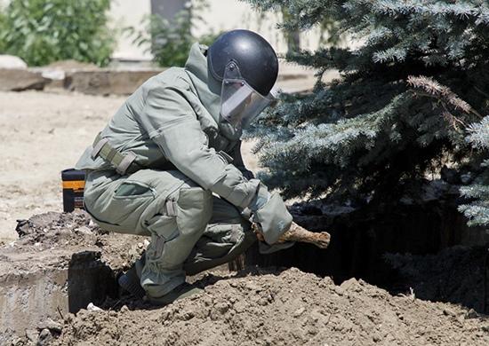 Минометную мину нашли в центре Волгограда – во дворе колледжа