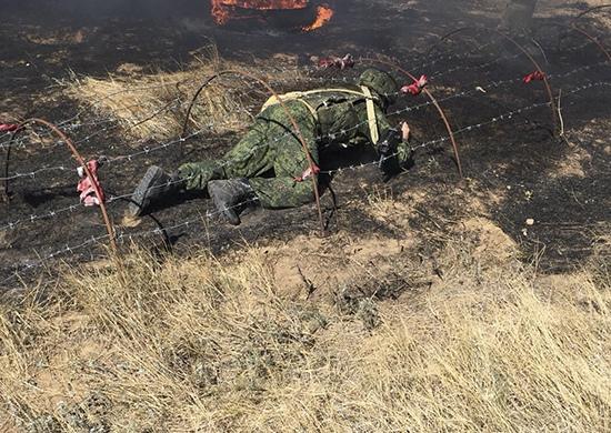 Солдат Южного военного округа подготовили к войне в условиях повышенного стресса