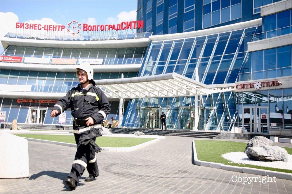 Сообщение о минировании бизнес-центра «Волгоград-Сити» оказалось ложным