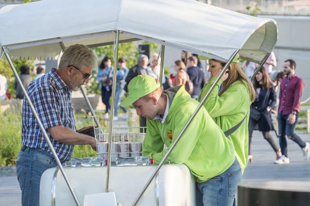 В двух районах Волгограда «под квас» и мороженое отведено больше всего мест