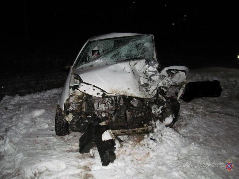 ВДТП вКалачевском районе один человек умер, трое ранены