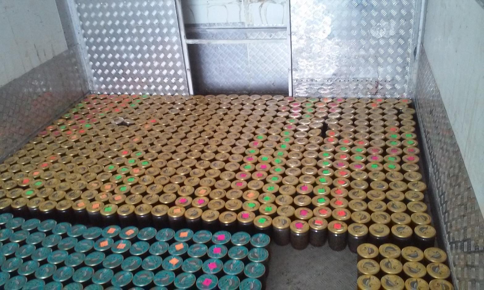 ВВолгограде работники ФСБ изъяли 450 килограммов браконьерской икры