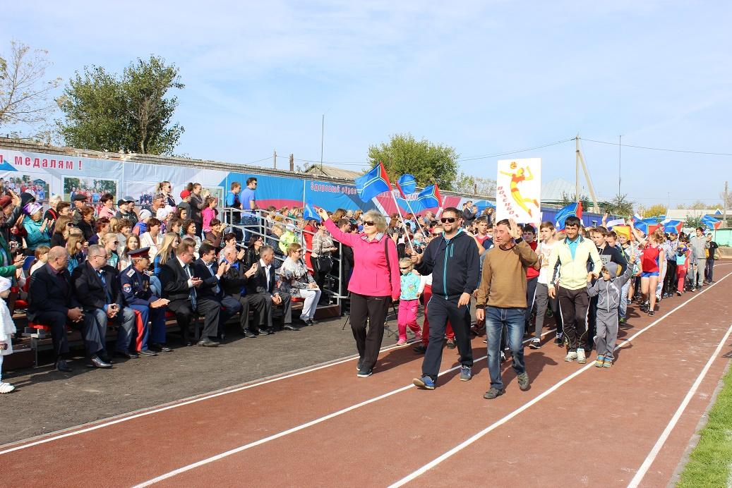 Встанице Алексеевской открыли новый стадион