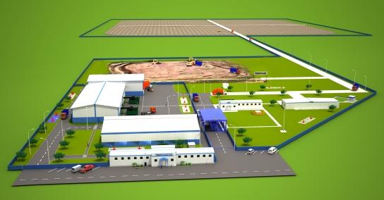 Полигон ТКО построят вПалласовском районе к 2020г