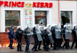 В Польше начались массовые беспорядки