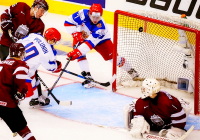 Российская «молодежка» разгромила Латвию
