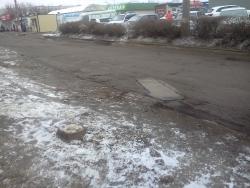На юге Волгограда под свет фар и фонарей «отлили» дорогу