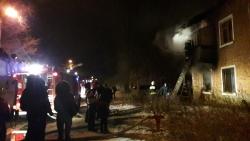 В Волгограде крупный пожар 1 января унес жизнь троих человек