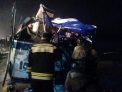 Массовое ДТП с двумя автобусами: есть погибшие