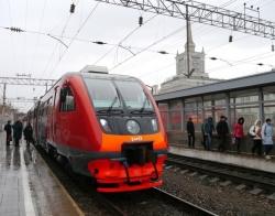 С 1 января меняется расписание движения пригородных поездов