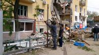 В Волгограде разрушенный дом на Университетском огородят