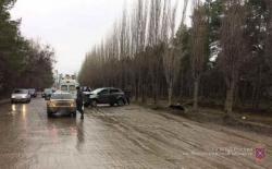 Под Волгоградом автоледи протаранила дерево: пострадал ребенок