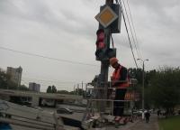 В Волгограде устанавливают светофоры с обратным отсчетом времени