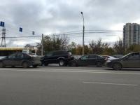 В Центральном районе Волгограда в ДТП попали две иномарки