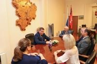 Андрей Бочаров встретился с бывшими и настоящими председателями ОНФ