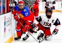 Россия - США - 8:3 (3:0; 1:2; 4:0).