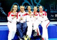 Российские саблистки выиграли золото Чемпионата Европы