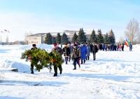 Жители станицы Березовской почтили память героев Сталинградской битвы