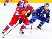 Россия - Швеция - 1:2 (0:1, 1:0, 0:1).