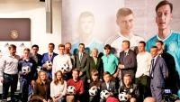 Сборная Германии подарила мячи Детской футбольной лиге