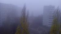 Волгоград заволокло туманом
