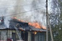 В Тракторозаводском районе Волгограда полностью выгорела дача