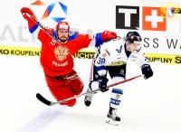 Россия - Финляндия - 0:1 (0:0; 0:0; 0:1).