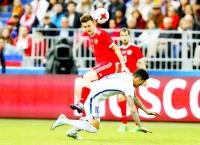 Россия – Чили - 1:1 (0:0).