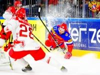 Россия - Дания - 3:0 (0:0; 3:0; 0:0).