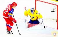 Швеция - Россия - 1:2 Б (1:0; 0:0; 0:1; 0:0; 0:1).