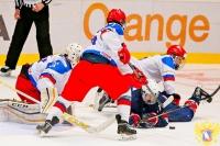 США - Россия - 5:4 (0:1; 3:0; 2:3)