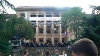 Анатолий Бибилов  Источник: http://presidentruo.org/traurnaya-akciya-bolyu-propitana-pamyat/ Все права защищены © Официальный сайт Президента Республики Южная Осетия