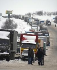 Продолжается действие ограничения движения по трассе М4-ДОН