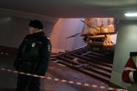 Водителю автобуса, въехавшего в Москве в переход метро, предъявили обвинение