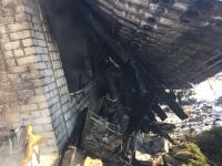 Сгорел дом известной волгоградки Елены Самошиной