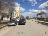 Школьник попал под машину в центре города
