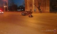 В ДТП пострадал первый в этом сезоне мотоциклист