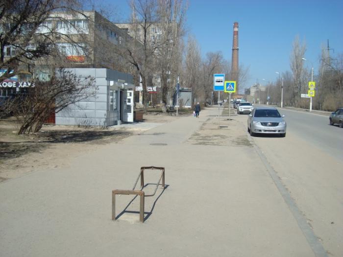 В Волгограде и области практически нет идеальных автобусных остановок