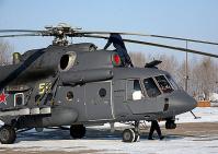 Российский вертолет Терминатор